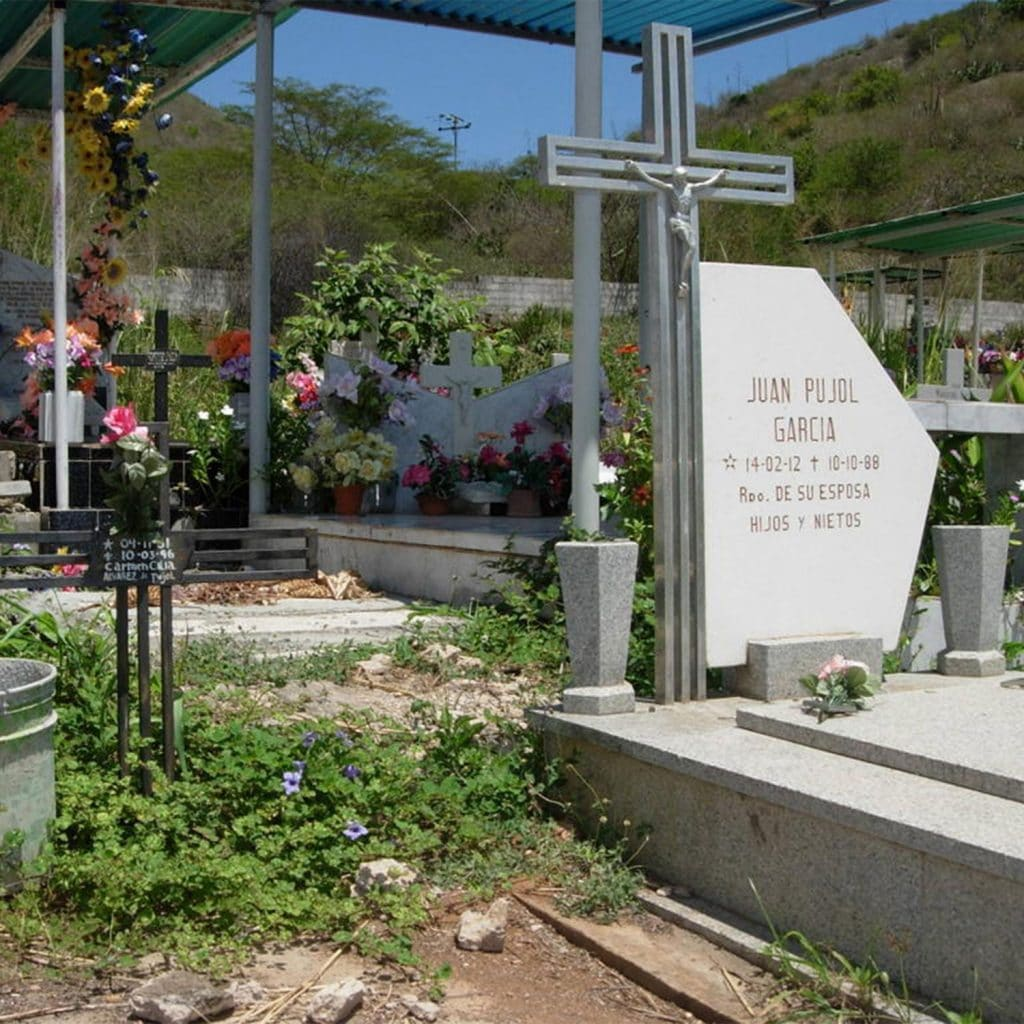 Juan Pujol tomb