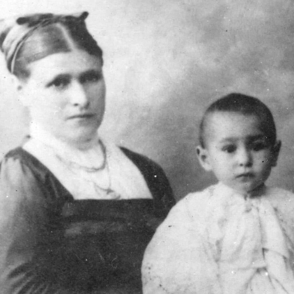 Juan Pujol de pequeño