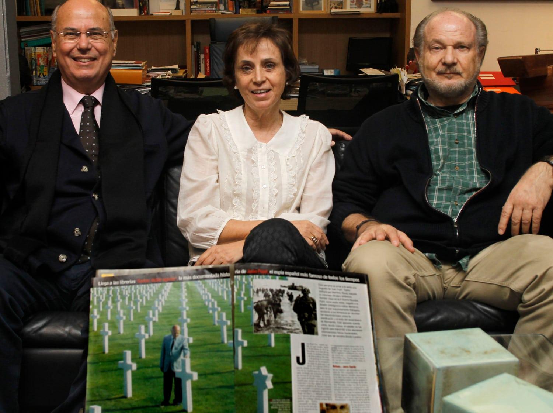Hijos de Juan Pujol y Araceli: Juan, María y Jorge Kreisler.